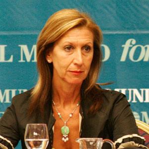 La candidata del partido UpyD, Rosa Díez.