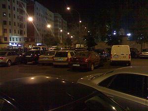 Foto del cruce entre la calle Pintor Genaro la Huerta y la calle Molinell remitida por el lector.
