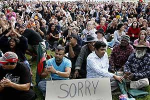 La población australiana, mezclada con la población aborigen. (Foto: REUTERS)