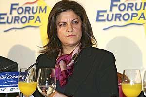 La ex ministra de Vivienda, María Antonia Trujillo, en una imagen de 2007. (Foto: Carlos Miralles)