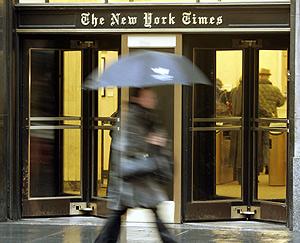 Sede central de 'The New York Times'. (Foto: AP)
