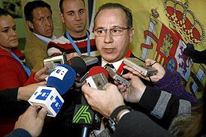El presidente de la AVT, Jesún Alcaraz. (Foto: Begoña Rivas)