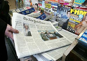 Diversas publicaciones norteamericanas. (Foto: AP)