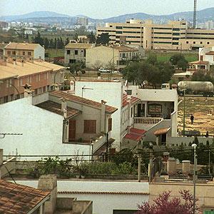 Imagen de archivo de una zona del barrio de Son Ferriol. (Foto: E. M.)