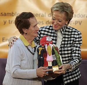 De la Vega, en la entrega de los Premios a la Igualdad concedidos por UGT. (Foto: Benito Pajares)