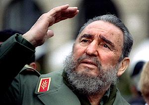 Fidel Castro, durante un viaje a París en 1995. (Foto: REUTERS)