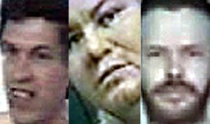 La Guardia Civil pide la colaboración ciudadana para localizar a estos tres presuntos pederastas. (Foto: Guardia Civil)