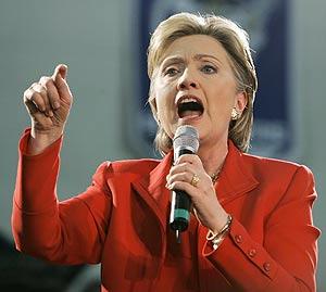 Hillary Clinton en Huber Heights, Ohio. (Foto: AP)