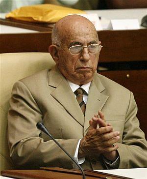 José Ramón Machado, durante su nominación como vicepresidente en la Asamblea. (Foto: AP)