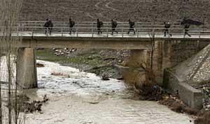 Soldados turcos en Sirnak, en la frontera con Irak. (Foto: REUTERS)