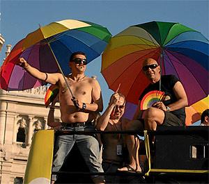 Cabalgata del Europride'07, celebrada en Madrid el pasado mes de julio. (Foto: Kike Para)