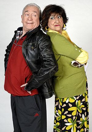 Cesáreo Estébanez y Mamen García. (Foto: TELECINCO)