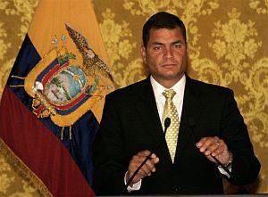 El presidente de Ecuador, Rafael Correa. (Foto: AP)