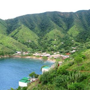 Imagen de la Bahía de Taganga en Colombia.