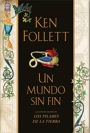 Portada del último libro de Ken Follet.