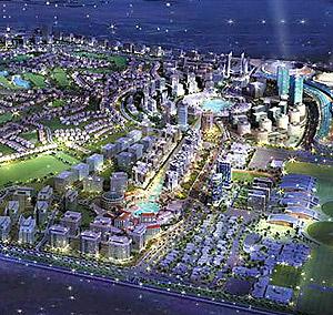 El futuro 'Dubailand' . (Foto: Real Estate)