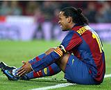 Ronaldinho: (EFE)