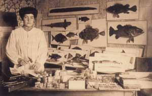 Josefa Sanz, becada en 1906 por la JAE (Foto: CSIC)