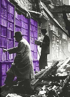Fotomontaje de una biblioteca. (Foto: After Word After Bomb)