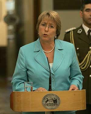Michelle Bachelet. (Foto: AP)