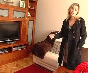Mari Carmen, propietaria del piso.