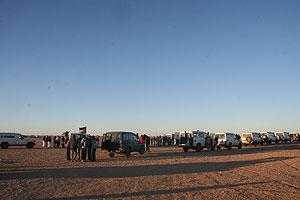 Lugar donde se realizó la protesta. (Foto: José Gomar)