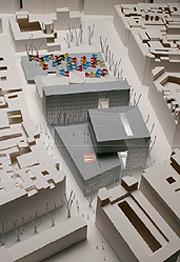 Imagen del proyecto inicial de la plaza de Barceló