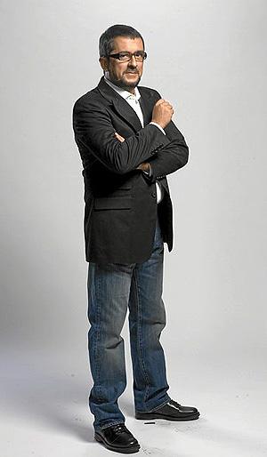 El presentador estrella de la cadena, Andreu Buenafuente.