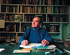 El periodista Sir Geoffrey Cox. (Foto: University of Otago Magazine)
