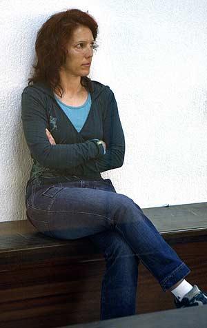 La etarra Ainhoa Múgica Goñi, 'Olga', durante el juicio. (Foto: EFE)