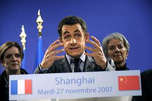 Nicolas Sarkozy, en una imagen de archivo, en Shanghai el pasado año. (Foto: AFP)