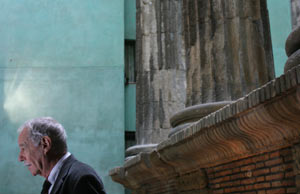 Eduardo Mendoza, en un momento de la presentación. (Foto: Christian Mauri)