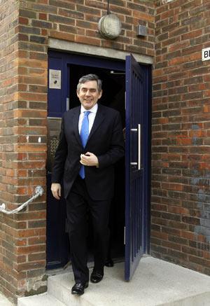El primer ministro británico, Gordon Brown. (Foto: AP)