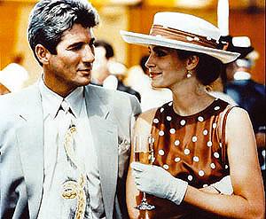 Richard Gere y Julia Roberts en 'Pretty Woman'. (Foto: EL MUNDO)