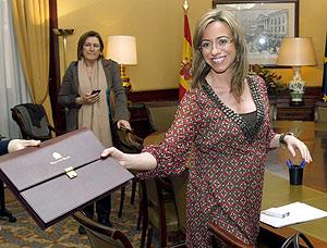 Carme Chacón, nueva ministra de Defensa. (Foto: EFE)