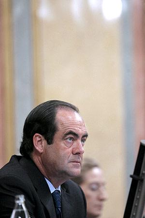 José Bono, en el Congreso. (Foto: EFE)