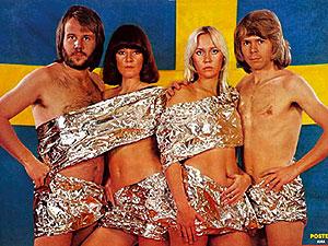 Los componentes del mítico grupo sueco Abba. (Foto: EL MUNDO)