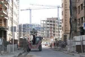 Bloques de pisos en construcción. (Foto: EFE)