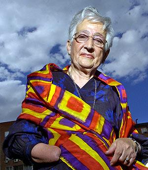 Rosario Sánchez Mora, 'Rosario la Dinamitera', en 2006 (Foto: BEGOÑA RIVAS)