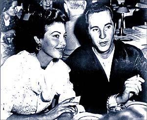 Ava Gardner y Luis Miguel Dominguín, durante su idilio en 1954. (Foto: EL MUNDO)