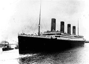 El Titanic, al inicio de su viaje. (Foto: AP)
