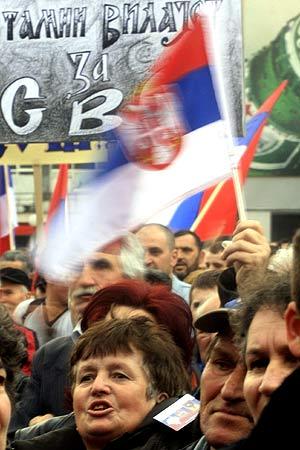 La declaración de independencia kosovar provocó la reacción de los serbios que viven en la zona. (Foto: REUTERS)