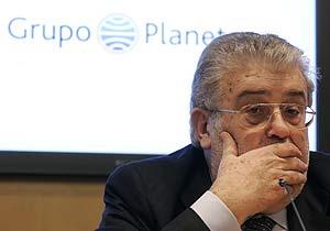 El presidente de Planeta, José Manuel Lara. (Foto: JOSEP LAGO)