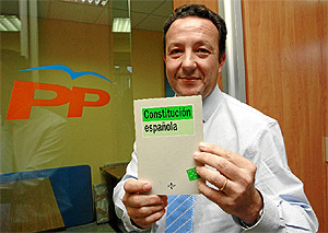 Iñigo Henriquez, presidente del PP del distrito de Salamanca (A. Heredia)