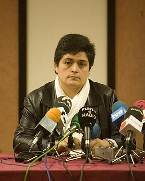 La alcaldesa de Hernani, Marian Beitialarrangoitia. (Foto: Justy)