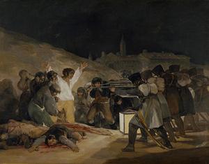 Fusilamientos de Príncipe Pío.