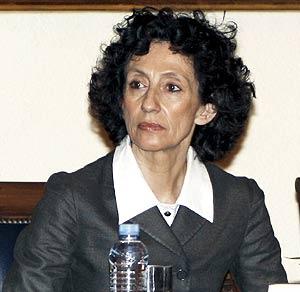 Mercedes Cabrera, titular de Cultura. (Foto: EFE)