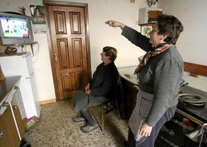 El pueblo lucense de A Fonsagrada fue el primero en España en completar la digitalización de la señal de televisión TDT. (Foto: JOSÉ AYMÁ)