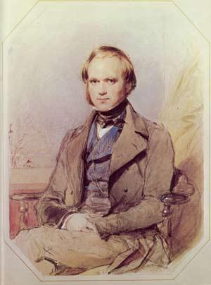 Charles Darwin, en 1840, antes de publicar su 'Teoría de la Evolución' (Foto: Darwinonline.org)