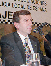 El jefe de la policía Ginés Jiménez, en una imagen de 1996.